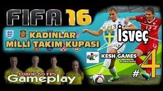 Fifa 16 İsveç Kadınlar Milli Takım Kupası #4 Baskıcı Bir Futbol (İtalya)