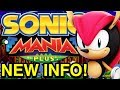 Sonic Mania Plus New Info - Release Date, Gameplay, and More - NewSuperChris