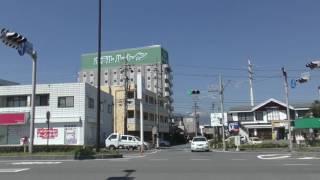 信号無視の車(長野県塩尻市高出和手の交差点)