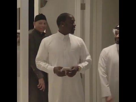 Qatar : Karim Wade apparaît dans une vidéo de Akon