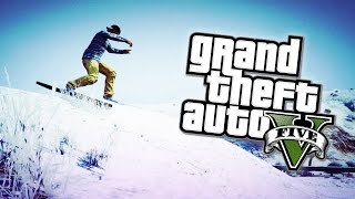 GTA 5 Christmas DLC 2014 - Snow & Snowball Fights Return! (GTA 5 PS4 Gameplay)