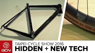 New & Under The Radar Road Bike Tech – Inside Line On The 2016 Taipei Cycle Show With James Huang
