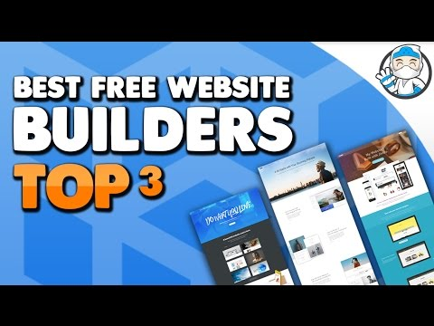 Top 3 - Best Free Website Builders 2017 (Free Hosting and Free Domain)