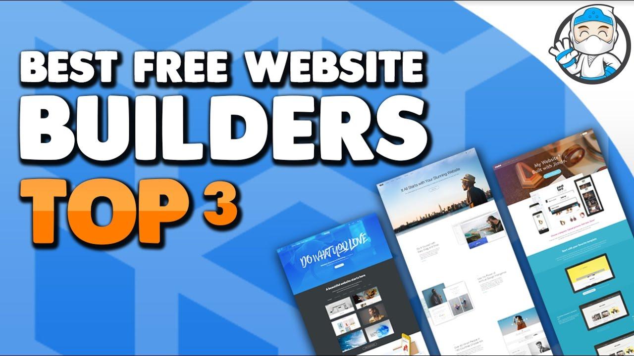 Top Website Builders >> Top 3 Best Free Website Builders 2017 Free Hosting And Free Domain