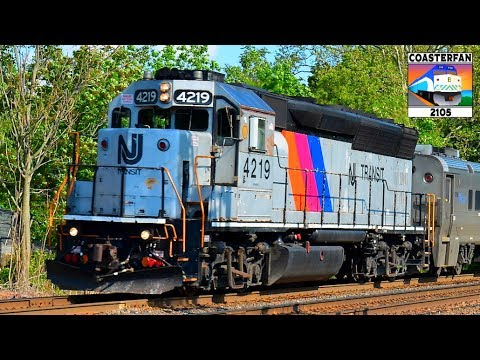 New Jersey Transit Trains!