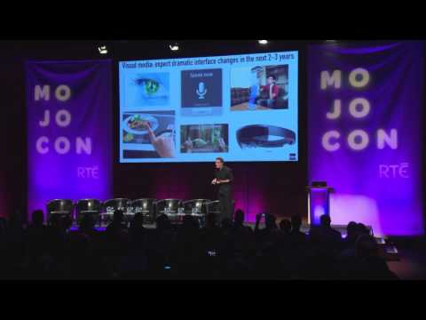 The future of mobile content and media: Futurist Keynote Spe