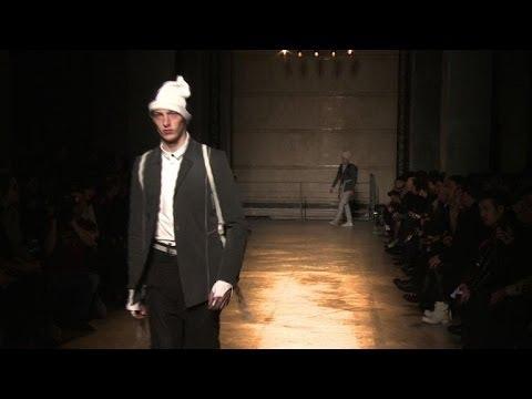 German-Iranian fashion designer Saberi hits Paris catwalk