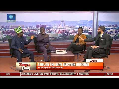 'Ekiti Poll A Complete Fraud','PDP A Bad Loser' Ologbondiyan, Arise Trade Blames On Vote Buying Pt.5