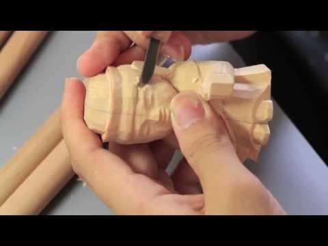 「彫刻刀で楽しむ仏像」シリーズ 聖観音菩薩