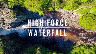High Force Waterfall Cinematic Drone movie - #EpicDroneClips No.39