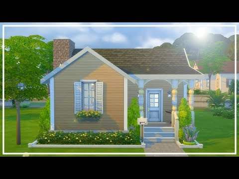YELLOW NOT SO BERRY HOUSE // The Sims 4: Speed Build