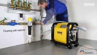 Jednostka płucząca i kontroli ciśnienia z kompresorem - Multi-Push Rems