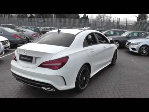 mercedes benz cla class cla 180 amg line coupe u43588. Black Bedroom Furniture Sets. Home Design Ideas