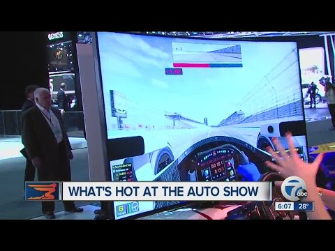 What's hot at the North American International Auto Show