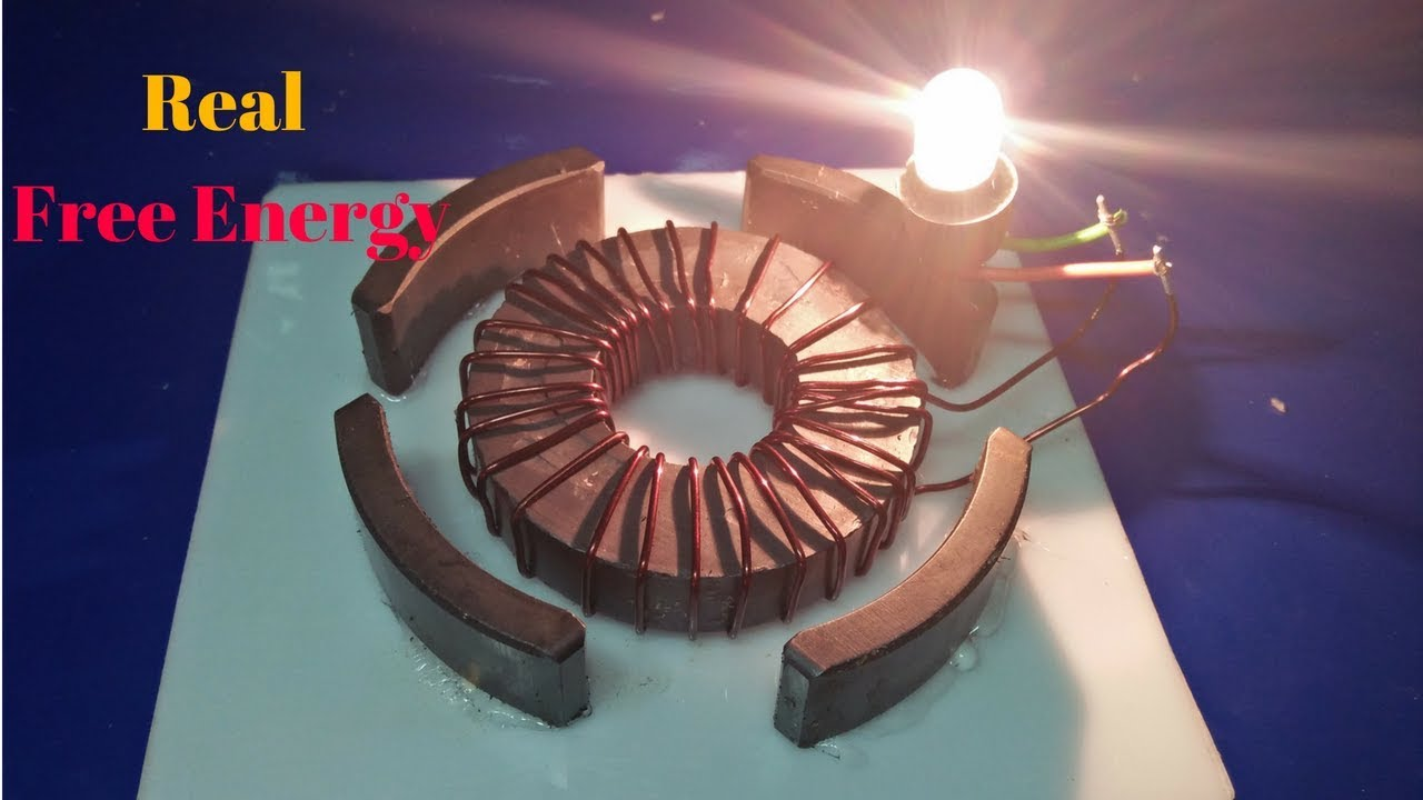 free energy magnet generator homemade real magnet and copper wire new  technology