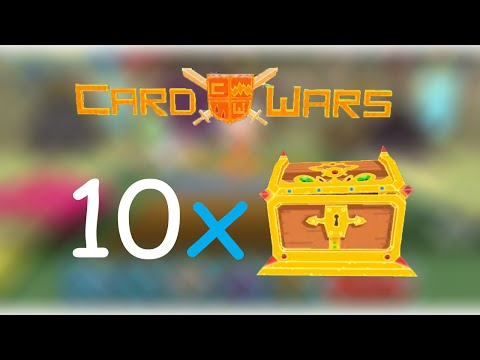 10 ALGEBRAIC CHESTS - Adventure Time Card Wars! (Awesome cards!)
