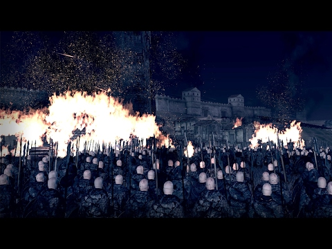 Jon Snow Defends The Wall - Game Of Thrones | Seven Kingdoms Total War