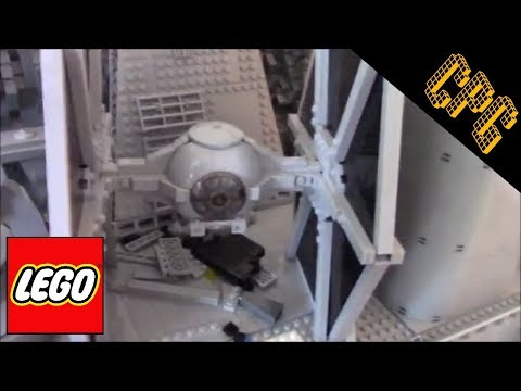 Jerac's Tie Fighter MOC and lego Endor Update 13!