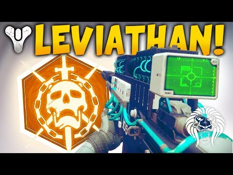 Destiny 2: LEVIATHAN RAID GAMEPLAY! New Loot Rewards, Defeating Bosses & Grinding Level 300+