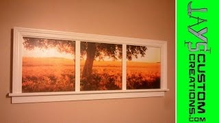 Window Frame Picture Frame Video 2 - 046