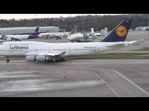 AN 22 Video 2 at Manchester Airport.