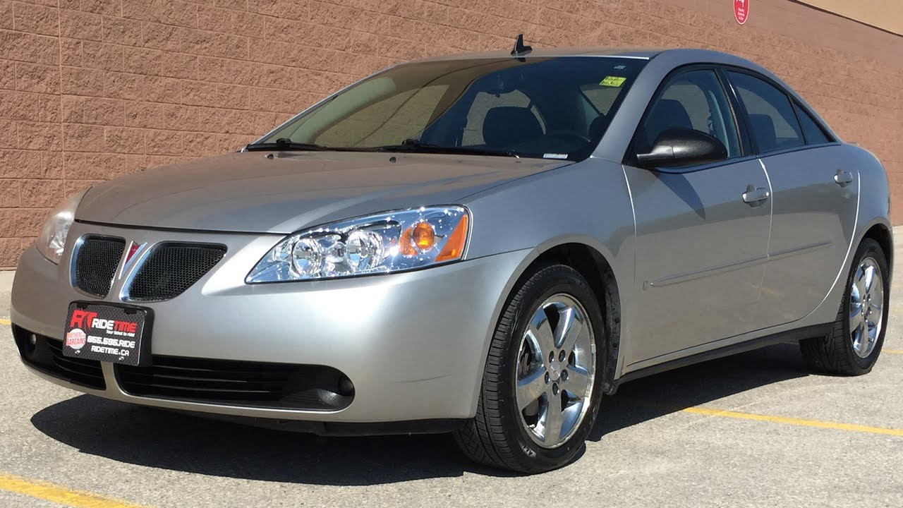 2008 Pontiac G6 Gt Sedan Alloy Wheels 3 5l V6 For