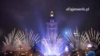 ŚWIATEŁKO DO NIEBA Warszawa 2017 Wielka Orkiestra Świątecznej Pomocy Fajerwerki Pokaz WOŚP