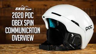 2021 POC Obex Spin Communicaton Helmet Overview