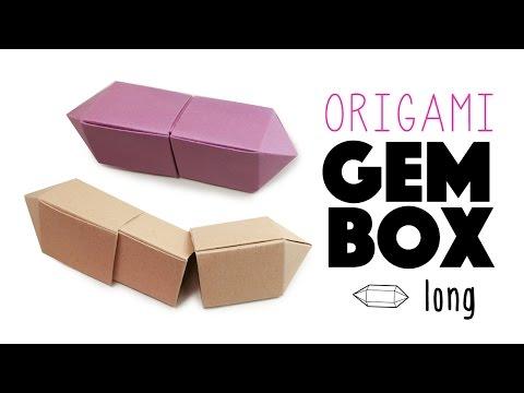 Origami Gem Box - Long Version Instructions ♦ Tutorial ♦ DIY ♦
