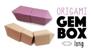 Origami Gem Box - Long Version Instructions - Paper Kawaii