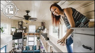 Hoarder Downsizes to TINY HOUSE with her Two Cats