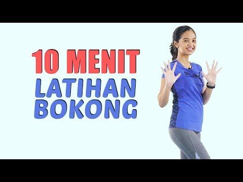 Latihan Mengecilkan Paha dan Bokong Dalam 10 Menit   Butt Workout