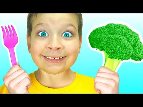 Yes Yes Vegetables Song - Kids Song From Max