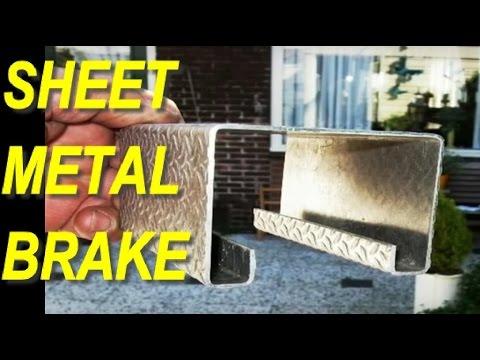 DIY Sheet Metal Brake (Bender) 1