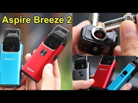 Breeze 2 Vape Kit Unboxing | How to Fill | Aspire Breeze 2 Tutorial | Elegomall.com
