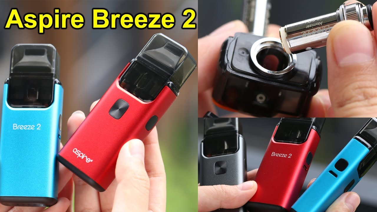 Breeze 2 Vape Kit Unboxing | How to Fill | Aspire Breeze 2 Tutorial |  Elegomall com