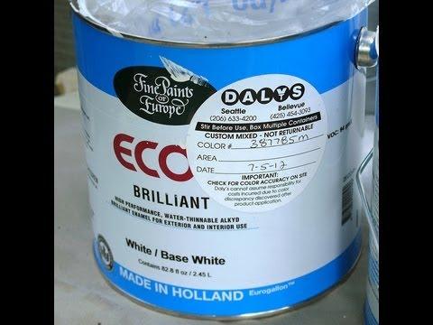 Behr alkyd semi gloss enamel doovi for What are alkyd paints