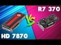 R7 360 vs HD 7870 Comparison - YouTube