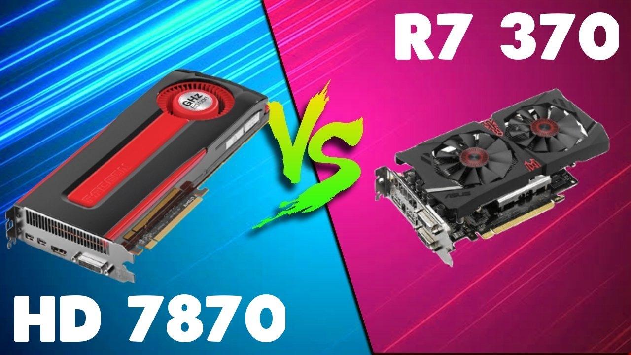 hd 7870 vs rx 460