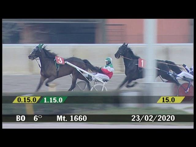 2020 02 23 | Corsa 6 | Metri 1660 | Premio Delle Maschere