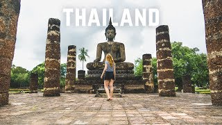 Thailand is INCREDIBLE! - Exploring Ancient Ruins + Beautiful Thai Home Tour 😍