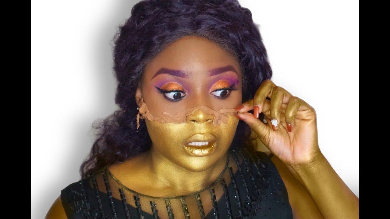 Peeling Skin Halloween Makeup Tutorial | ft. Vanoste Cosmetics | Glam Halloween Makeup Look
