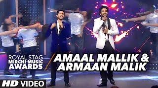 amaal mallik armaan malik creates magic on the stage rsmma 2016