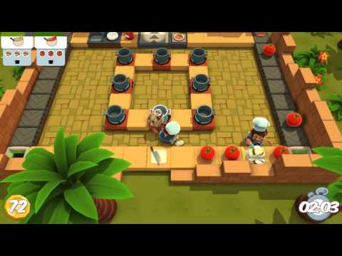 [Overcooked - DLC The Lost Morsel] Solo 1-3 3☆ |