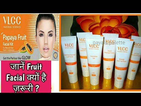 Vlcc Papaya Facial Kit Review & Demo -- Facial Kit for Dry skin-- Facial for glowing skin - 동영상