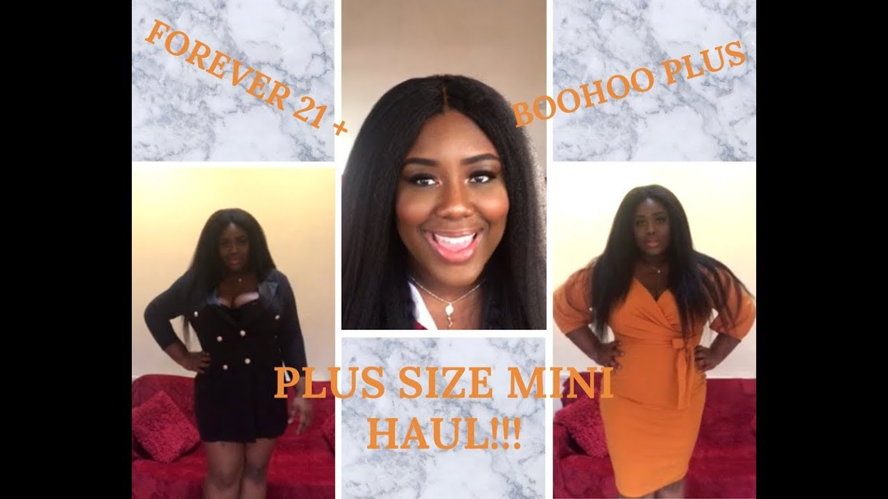 51c240940 PLUS SIZE | MINI HAUL | FOREVER 21 PLUS & BOOHOO PLUS by TheBuxomBelle