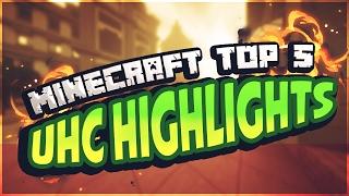 Top 5 UHC Highlights in Minecraft