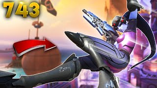 Widow's Grapple Teleports You!! | Overwatch Daily Moments Ep.743 (Funny and Random Moments)