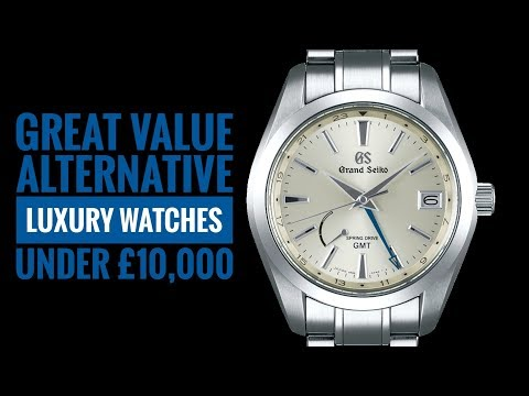 Great Alternative Luxury Watches Under £10,000