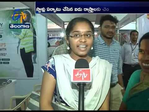 EENADU Education Fair Gets Good Response From Students in Hyderabad